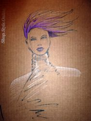 Fashion-Illustration Mercedes Benz Fashion Week 3