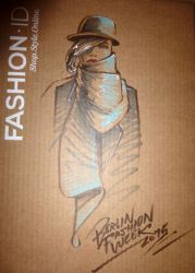 Fashion-Illustration Mercedes Benz Fashion Week